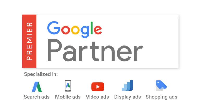 Premier Google Partner - Marketing Beku