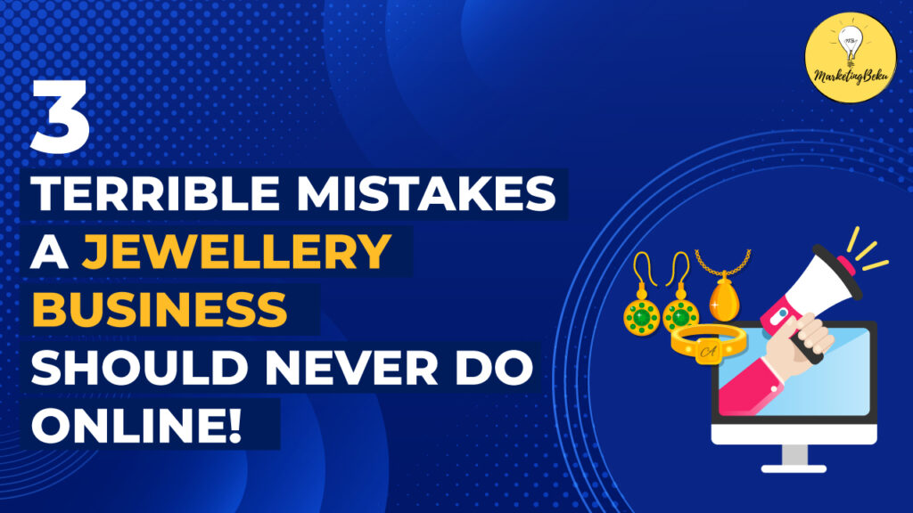 3 mistakes jewelry owners should never do