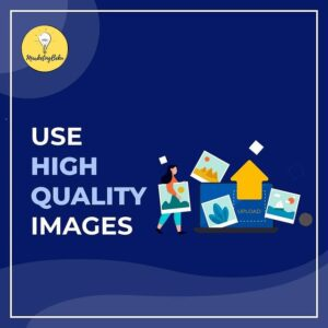 Use High quality images for social media