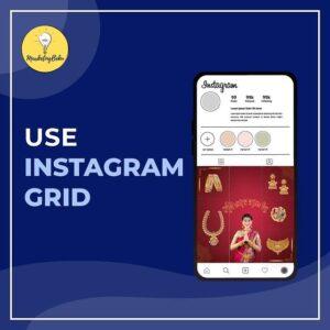 Use Instagram grid for social media