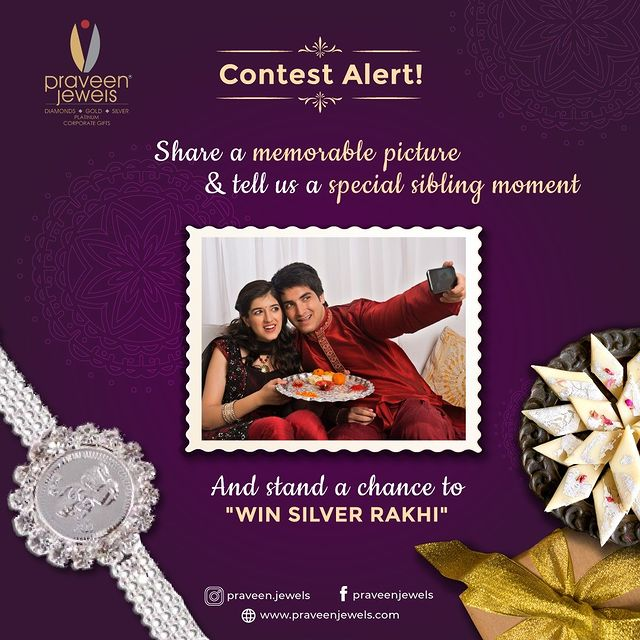Contest Alert Creative for Jewellery Business